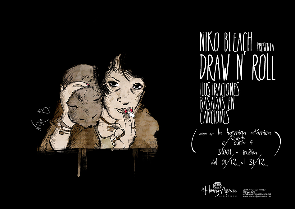 expo niko bleach draw n' roll hormiga atomica
